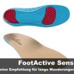 FootActive Sensi – Meine Empfehlung für lange Wanderungen