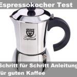Espressokocher Edelstahl Test | Geeignet für den Induktionsherd (+ Milchschäumer)