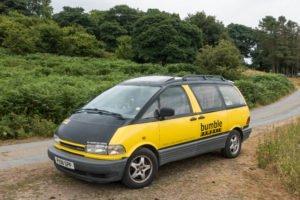 Kleines Wohnmobil im Snowdonia Nationalpark