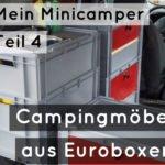 Mein Minicamper Teil 4: Möbelbau nochmal (fast) von vorne