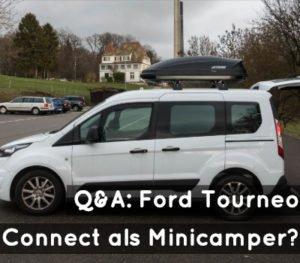 Ford Tourneo Connect als Minicamper