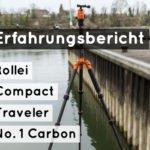 Neues Stativ | Rollei Compact Traveler Nr. 1 Carbon | Superleicht und Superklein