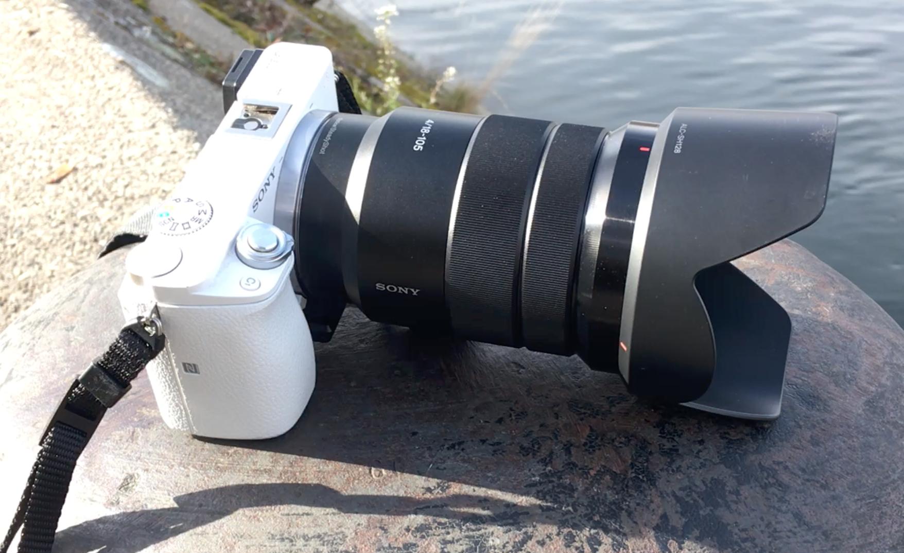 Sony Alpha 6000 mit 18-105 Zoom-Objektiv