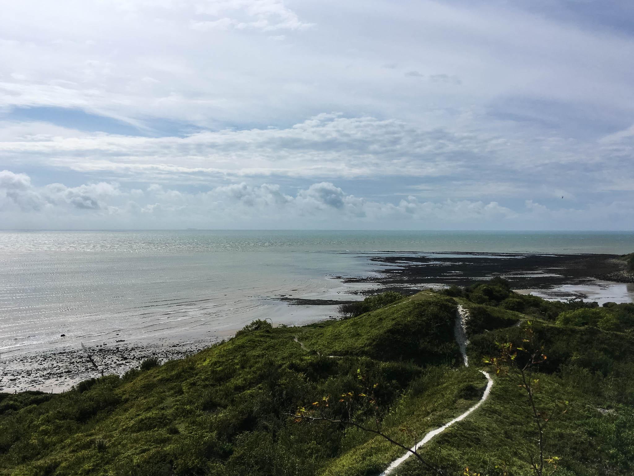 Küstenweg bei Folkestone / England