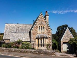 Kirche in Totnes - England