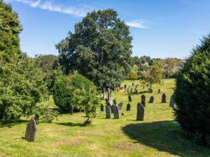 Friedhof in Totnes - England