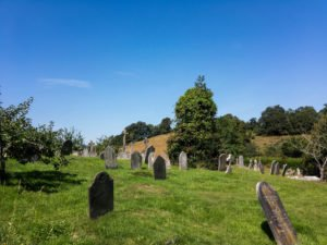 Friedhof in Totnes - England