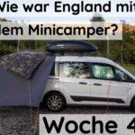 Wie war Woche 4 in England mit dem Minicamper?