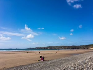 Strand Pembrokeshire