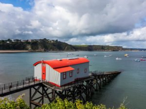 Das alte Lifeboat-House in Tenby