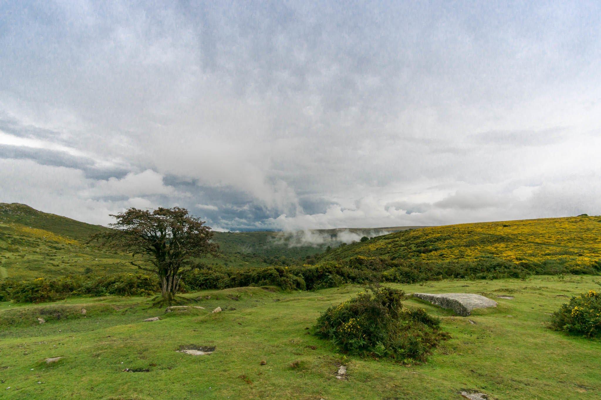 Landschaftsaufnahme mit Weitwinkelobjektiv 12 mm