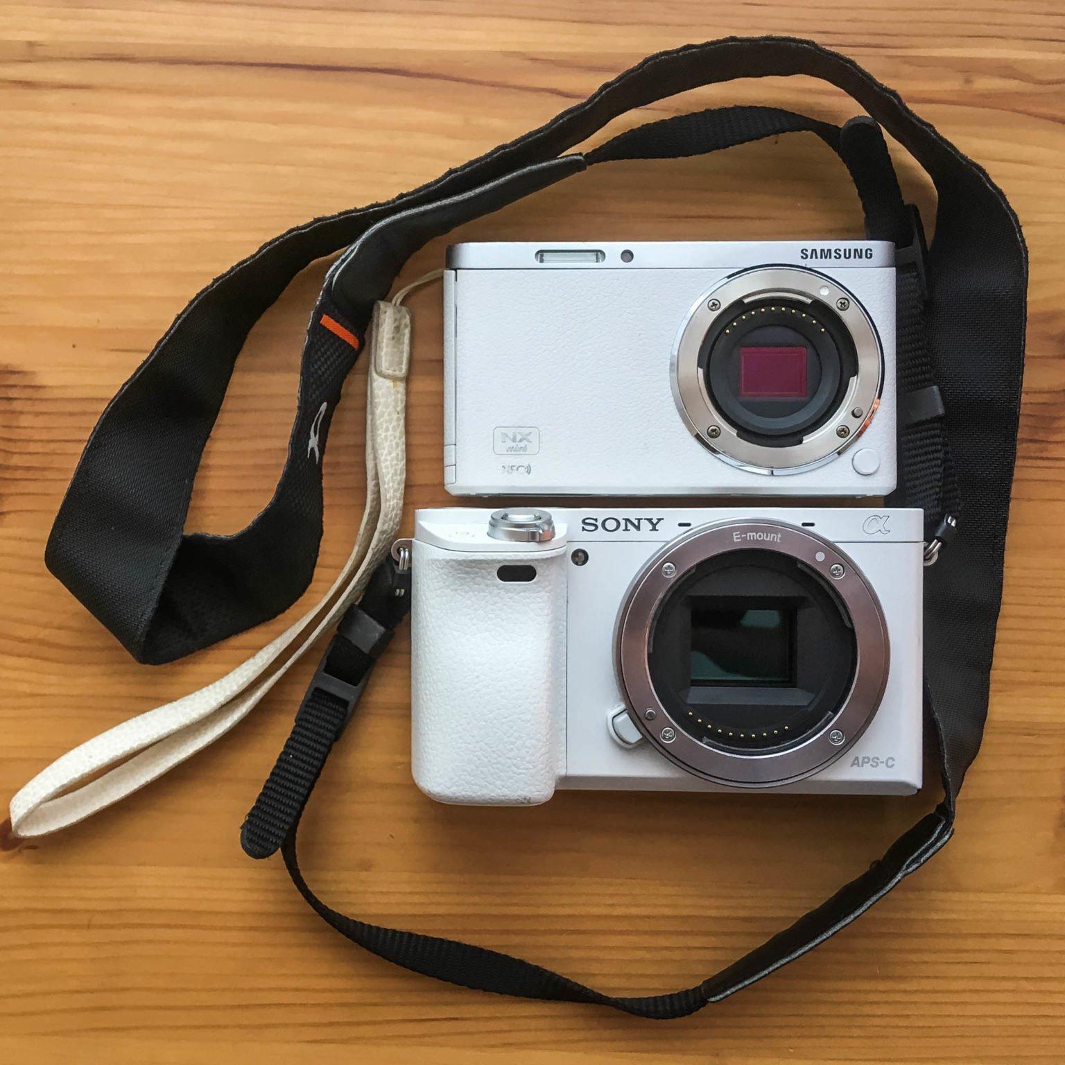 Systemkameras mit unterschiedlicher Sensor-Grösse