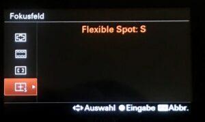Flexible Spot für Portraitfotografie Sony Alpha 6000 Serie