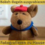 Bokeh-Regeln ausprobieren | Fotografieren zu Hause