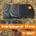 Xtorm SolarBooster (21W) – Solar-Ladegerät | Test