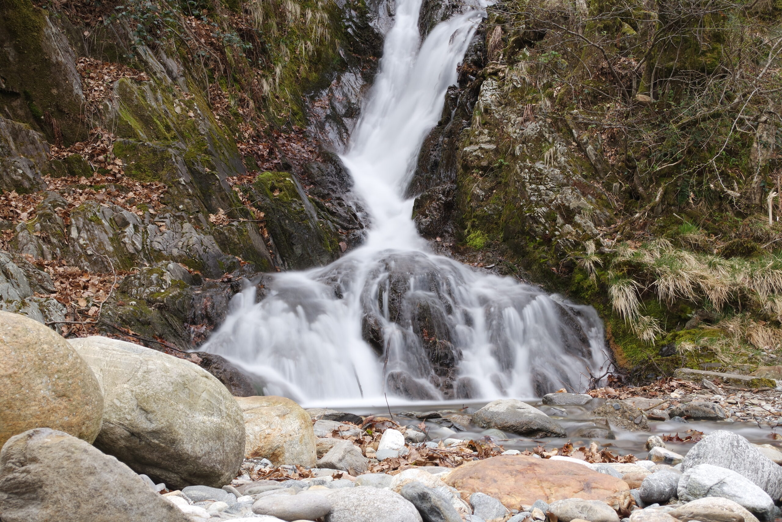 Wasserfall - Belichtungszeit 2 Sekunden
