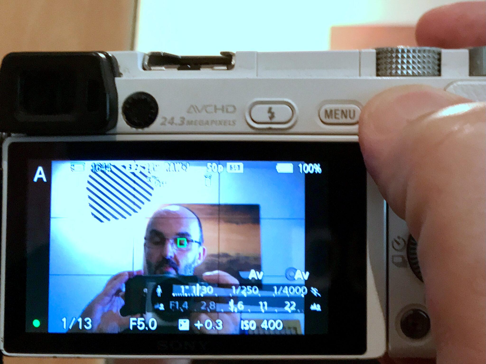 Augen-Autofokus Sony Alpha 6000