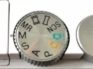Drehregler für Kameramodus Sony Alpha 6000